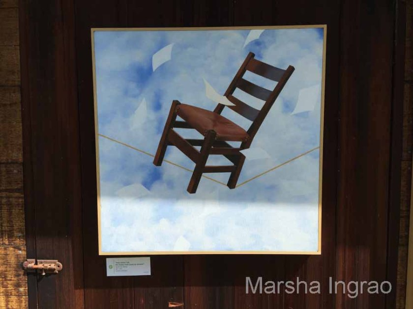 Dream Chair looking up