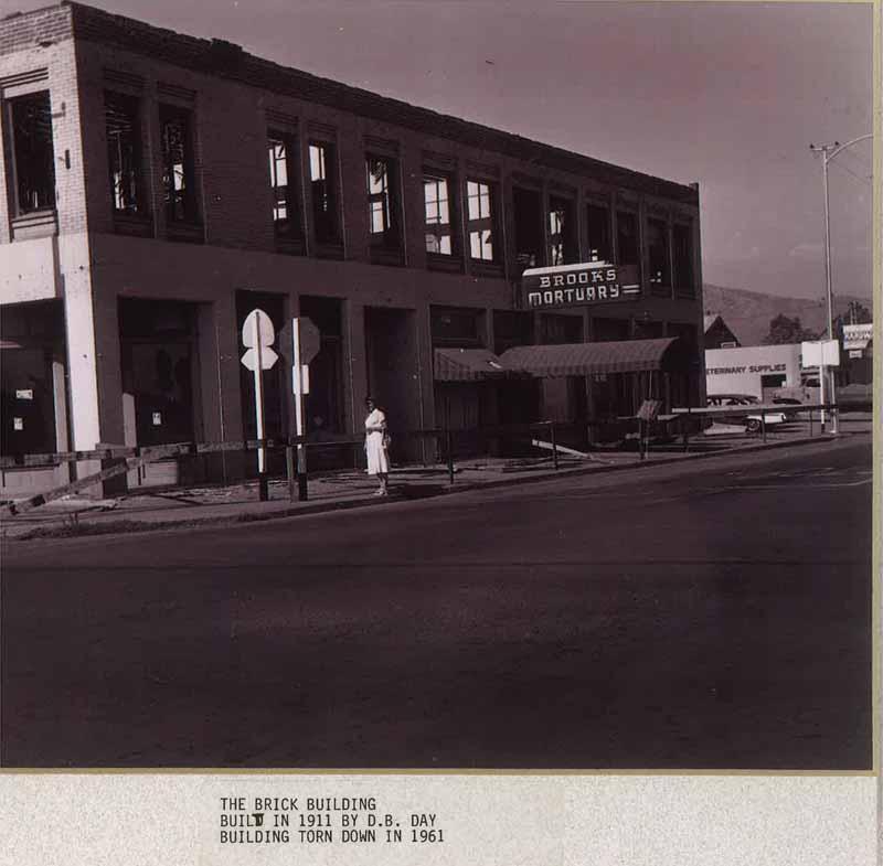 Demolition in 1961