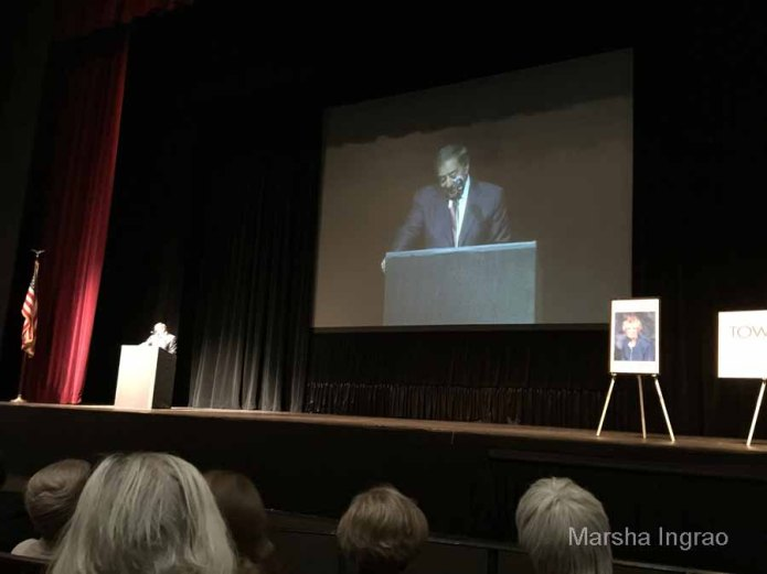 Up front and personal with Leon Panetta