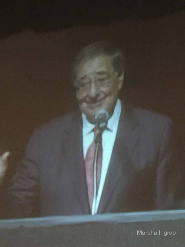 "Leon Panetta ""I've been dodging nuts all my life."""