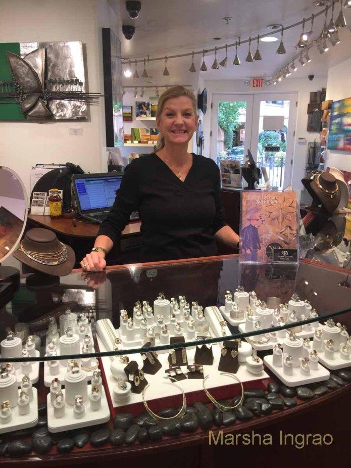 Kristen at Renee Taylor Gallery