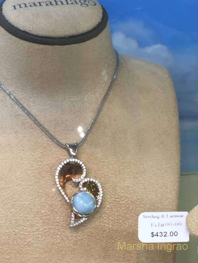Kristen at Renee Taylor Gallery told us about this valuable rock.