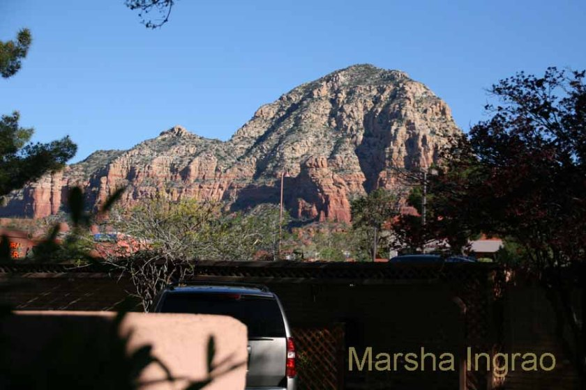It's always rush hour in Sedona on Hwy 89A