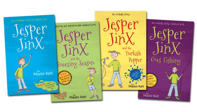 Jesper Jinx A+ Book Review