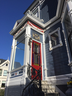 Vestibule Door, Painted Ladies, San Francisco