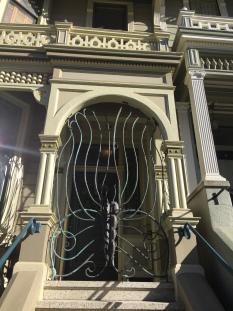 Butterfly Door, Painted Ladies, San Francisco