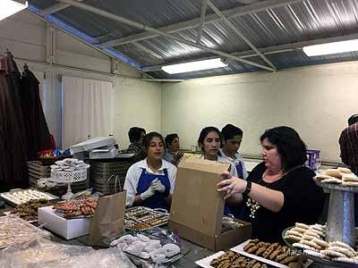 Kiwanis focus on catering