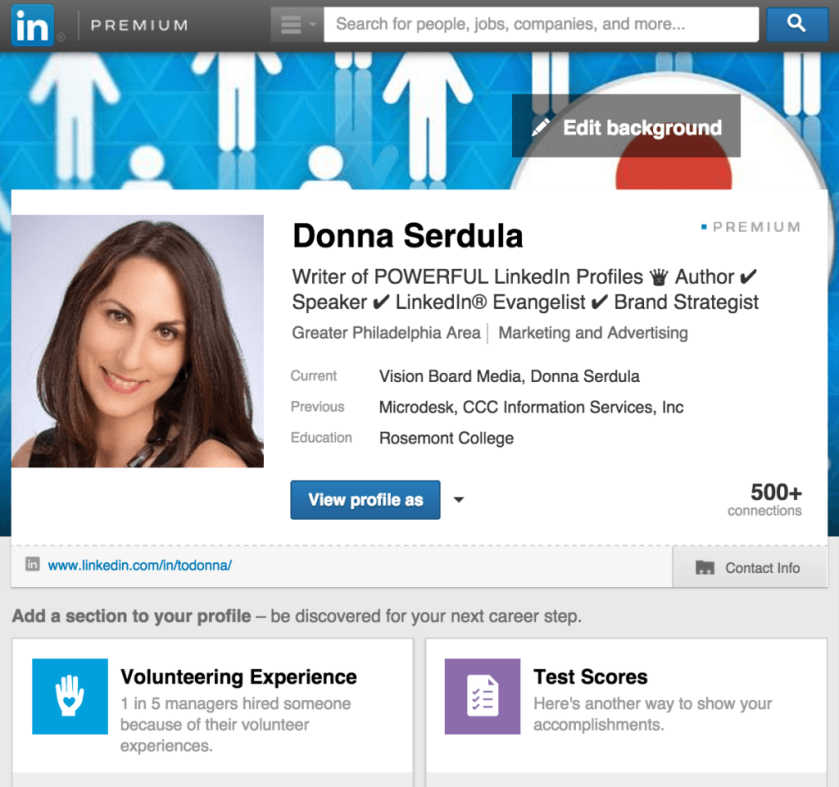 How to find your posts on LinkedIn. Thank you Donna.