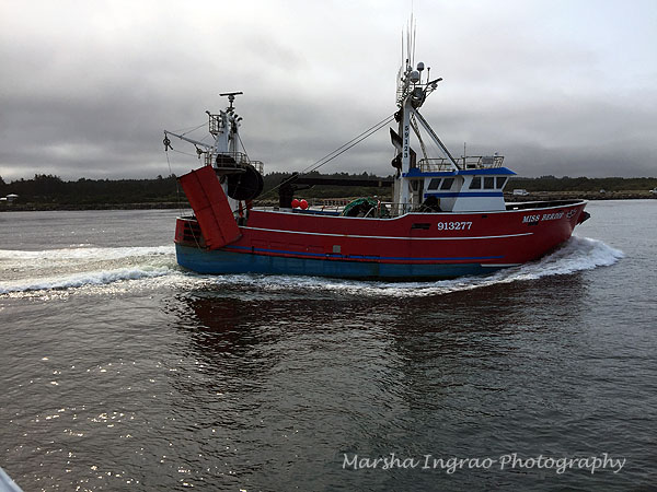 Newport OR boat