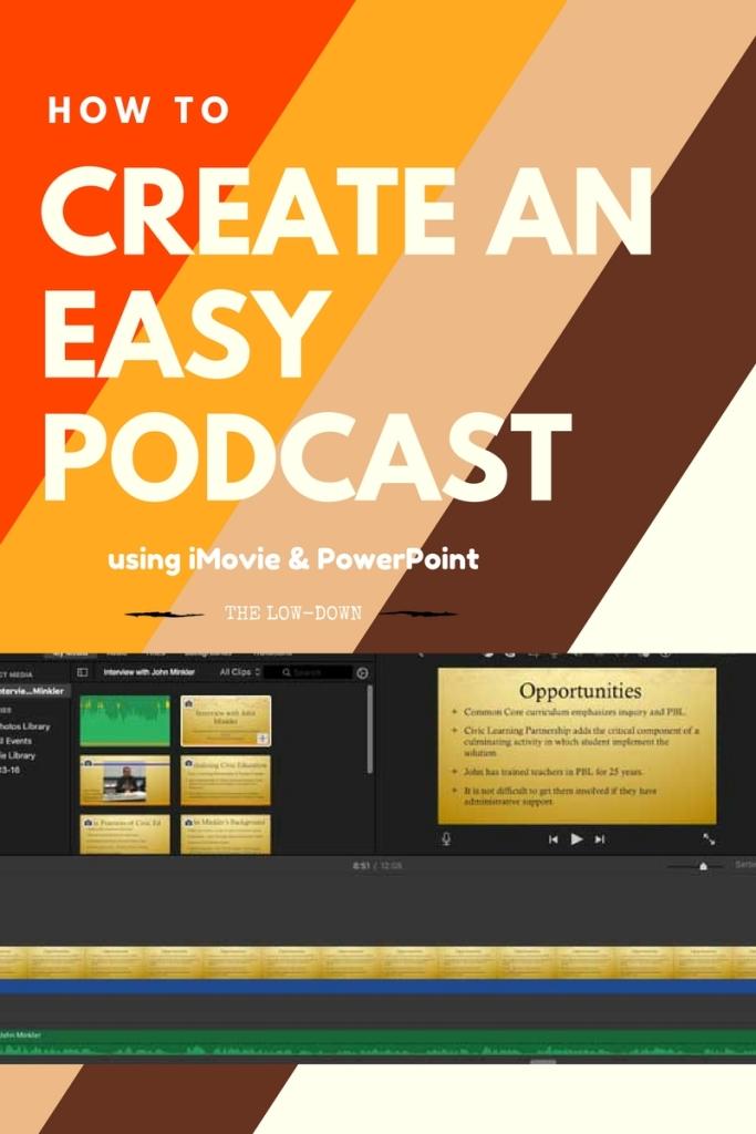 Create An Easy podcast