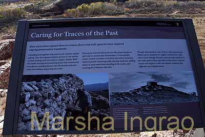 Tuzigoot Monument Cliff Dwelling story board