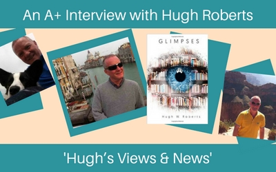 Glimpses author Hugh Roberts
