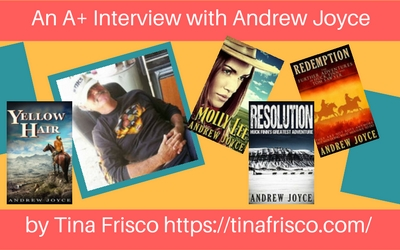 historical fiction author Andrew