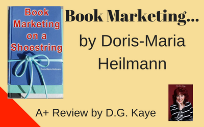 Book Marketing on a Shoestring Review by D.G.Kaye