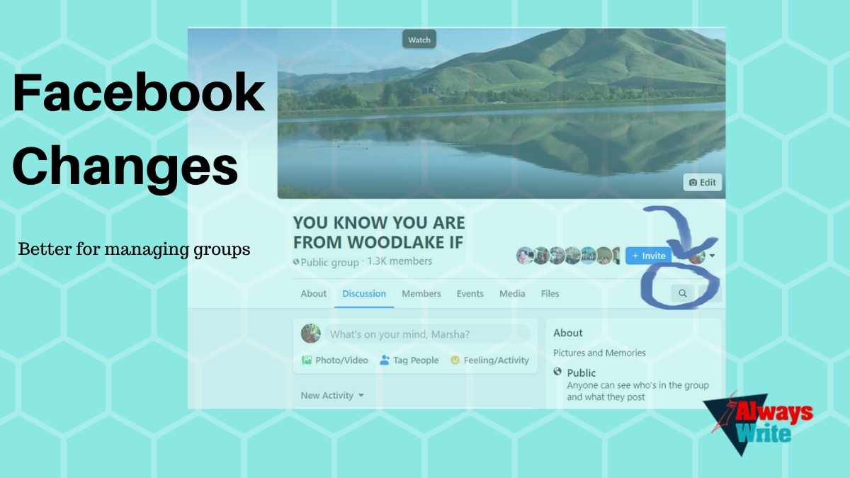 Facebook Changes better for managing groups