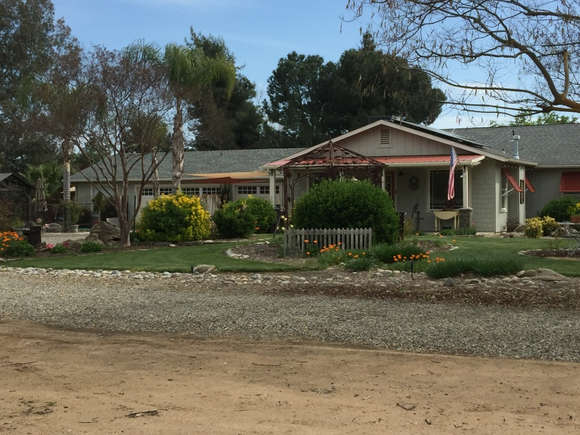picture of our house in Central California