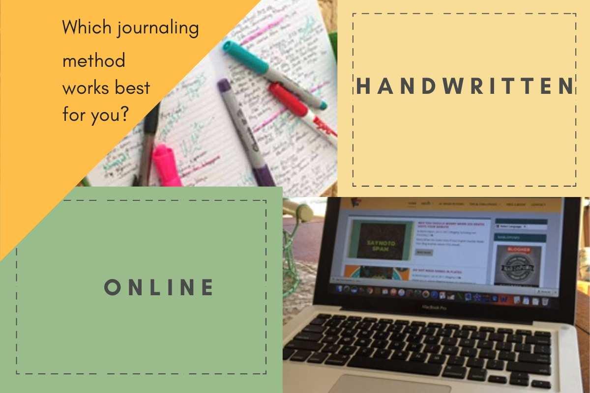 online v handwritten journals