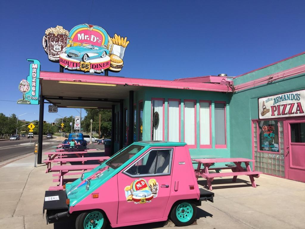 Mr. D's Diner near Kingman on Route 66