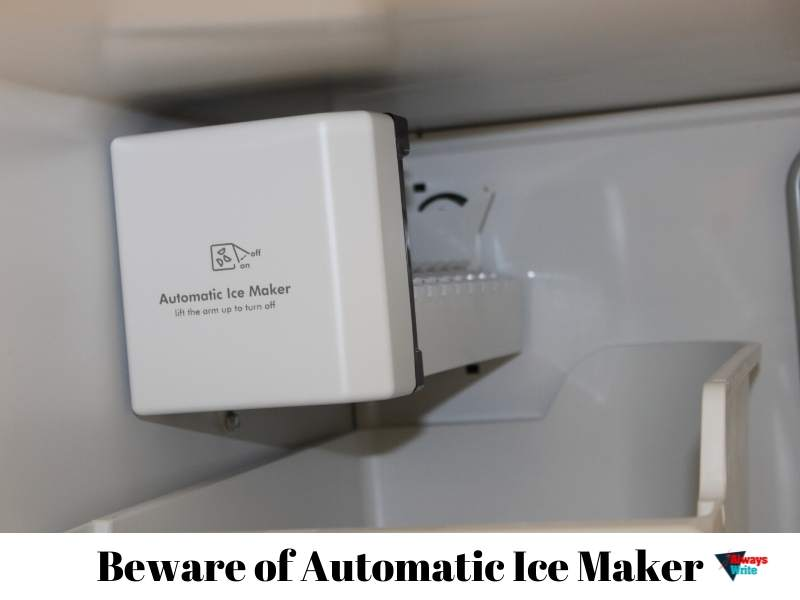 automatic icemaker in standard freezer