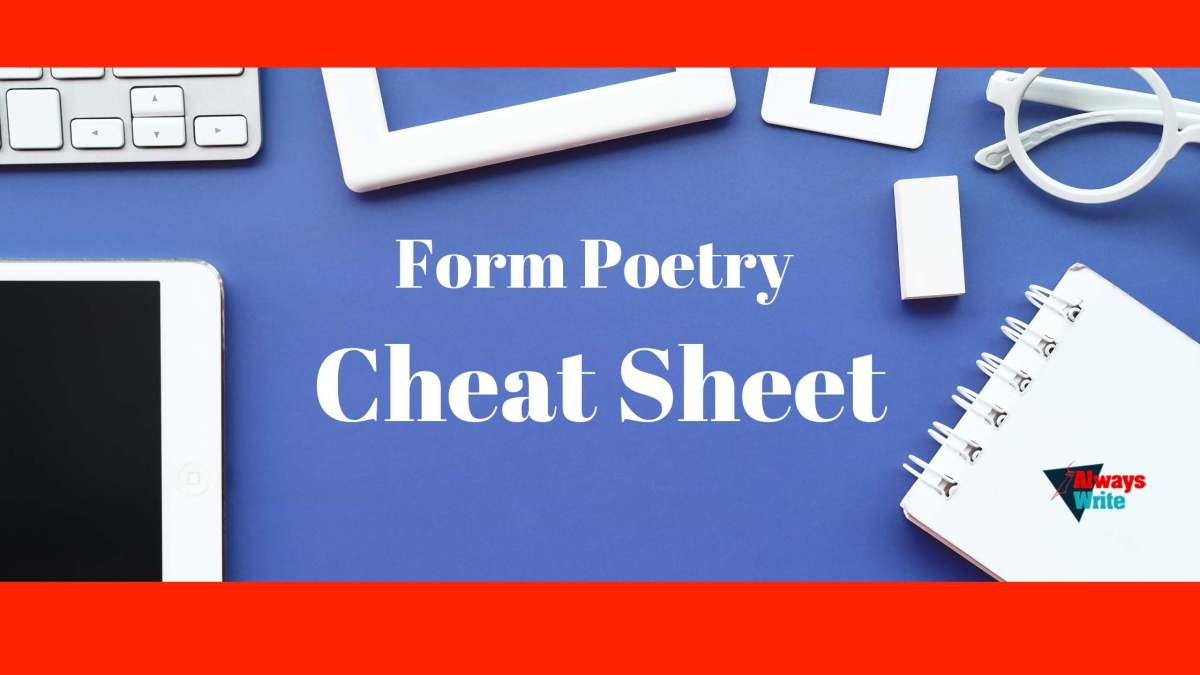 Always Write Form Poetry Cheat Sheet