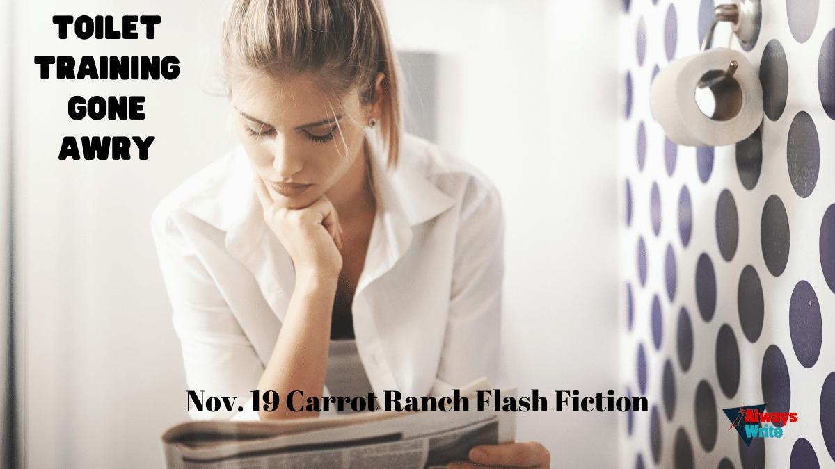 CR Flash Fiction Challenge: Toilet Training GoneAwry
