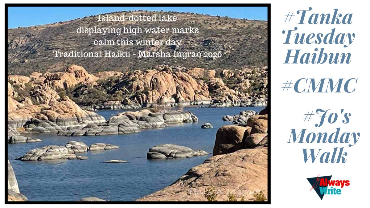 #Haibun: Granite Dells, Prescott, AZ Walk#2