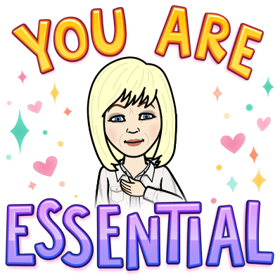 Bitmoji You are Essential