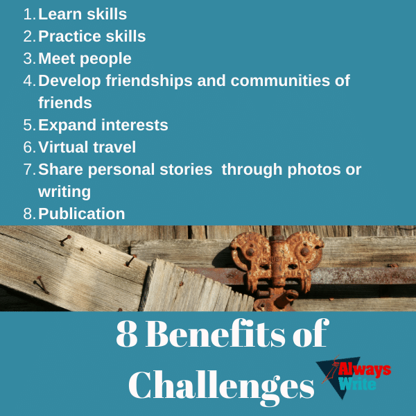8 benefits of Challenges