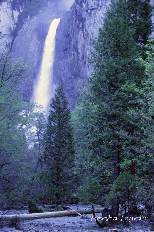 Kings River Waterfall at Yosemite 5-17-2017