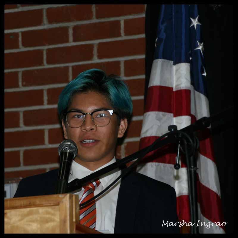 Sunday Stills Volunteering Kiwanis Woodlake Awards student winner