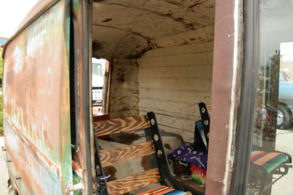 Inside Zombie Van