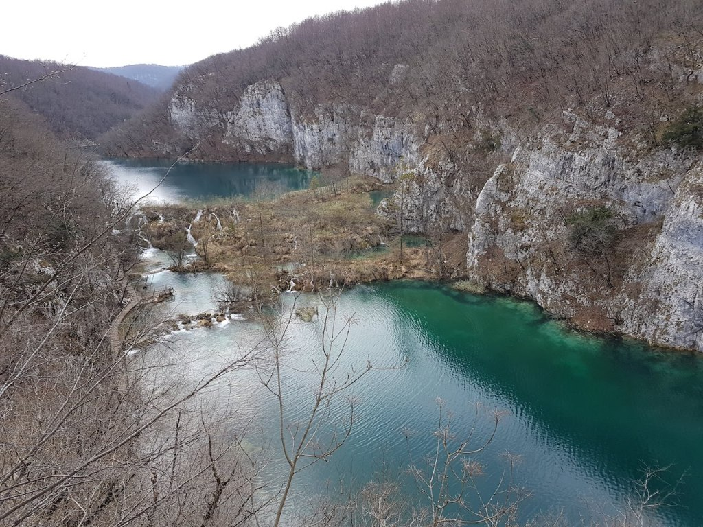 Plitvice Lakes National Park in Croatia in March. Photo by Natalie