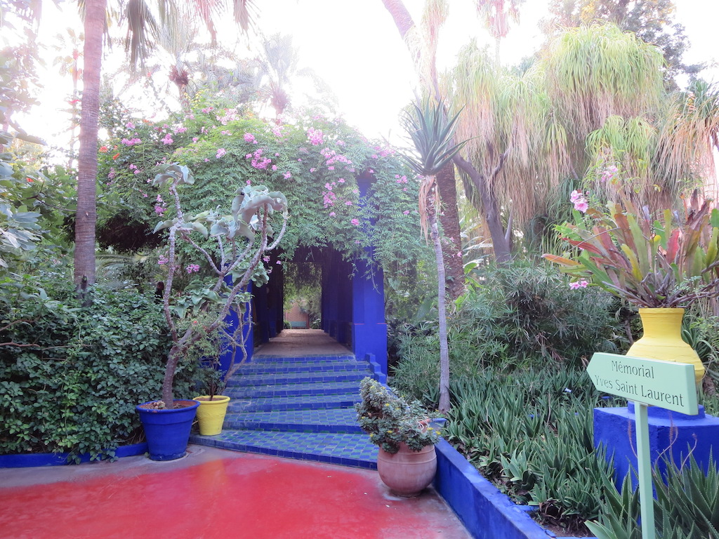 Jardin Majorelle in Marrakesh. Photo by Natalie
