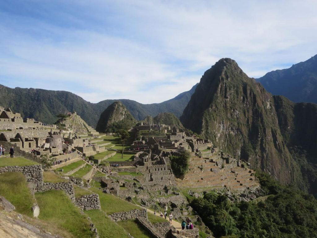 Machu Picchu in Peru. Natalie