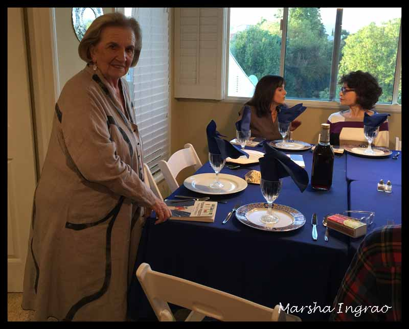 Thursday Trios Happy Easter at a Jewish Seder