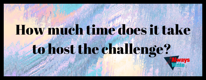 How much time does it take to host the challenge?