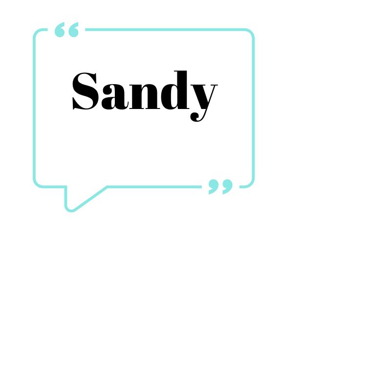 Quoting Sandy