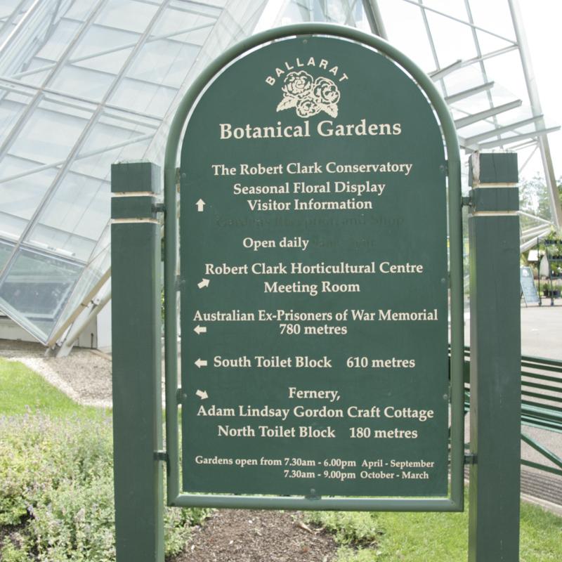 Ballarat Botanical Gardens Robert Clark Conservatory